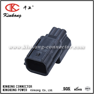 7282-2764-30 6 pin male electric wire connector CKK7061K-0.6-11