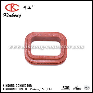 1010-009-0206 2 pin waterproof auto connector cable seals suit DT06-2S CKK002-05-SEAL
