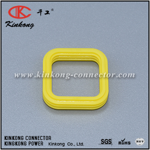 Kinkong custom 8 pin silicon wire harness grommet fit 776286-1 CKK008-01-SEAL