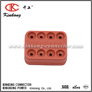 Kinkong 8 way rubber seal for waterproof connector suit DT06-8S DT06-08SA DT04-8P DT04-08PA CKK008-05