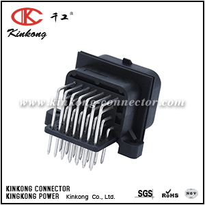Kinkong 26 ways male electric wire PCB connector CKK726DA-1.6-11