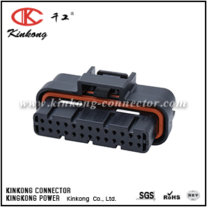 1473712-1  26 way 2 row Superseal 1.0 ECU connector CKK726K-1.6-21