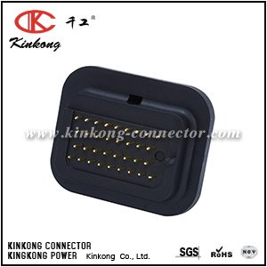 34 pin male automotive electrical connectors with tin plating or gold plating CKK734SY-1.6-11