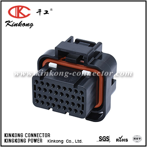 3-1437290-9 34 way female cable connector for TE CKK7342B-1.6-21
