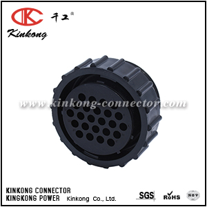 206837-1  24 way Standard Circular Connector PLUG 24 POSITION shell size 23