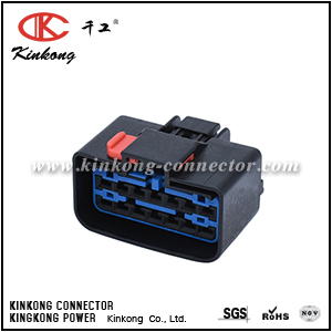 54201400 14 way black automotive connector