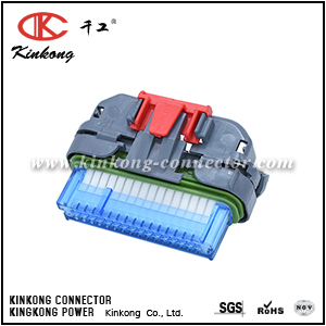 12129023 32 way female automobile wire harness connector CKK7322-1.0-21