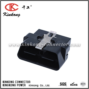 16pin OBD male connector