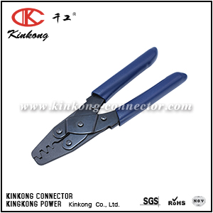 Tool for crimping copper aluminium connecting terminals CKK-1
