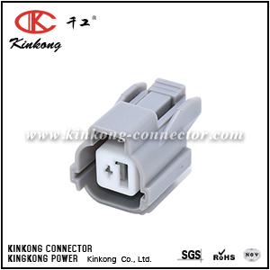 6189-0386 1 pole gray female waterproof electrical VTEC connector CKK7013-2.0-21