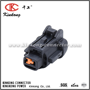 6185-0862 6918-1773 1 Pin Black Female Sealed Different Types Of Connectors CKK7019-2.2-21