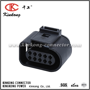 1J0 973 715 10 Pin female automobile connector  CKK7105A-1.5-21