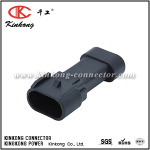 Kinkong 3 pin male waterproof cable connectors  CKK7033-1.5-11