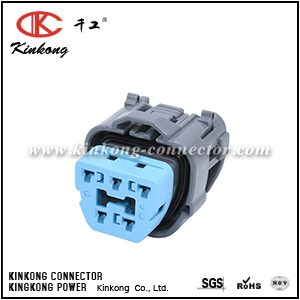 6189-0618  5 hole female waterproof automotive electrical connectors   CKK7052B-2.2-21