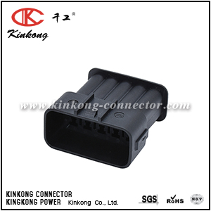 10 pin blade waterproof automotive connector for Kinkong CKK7101B-2.2-11