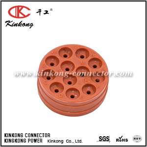 12 way Amphenol connector wire seal CKK012-03