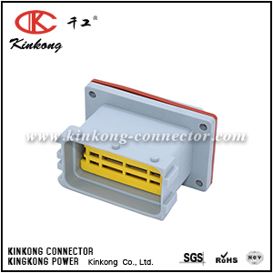 24 pins connector automotive male low voltage cable to cable CKK724GA-1.5-2.5-11