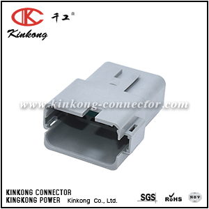 AT04-12PA-RD01 12-WAY RECEPTACLE, MALE
