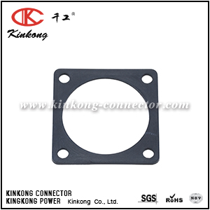 RTFD16B SQUARE FLANGE RECEPTACLE GASKETS, SHELL SIZE 16, THICKNESS 0.8MM (±0.2). COMPATIBLE TO PART UTFD15B