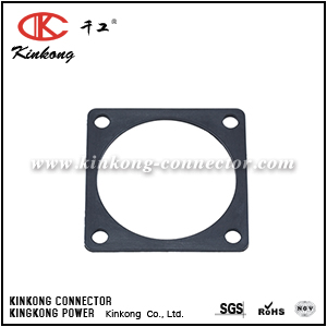 RTFD18B SQUARE FLANGE RECEPTACLE GASKETS, SHELL SIZE 18, THICKNESS 0.8MM (±0.2). COMPATIBLE TO PART UTFD16B