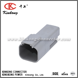 DT04-2P 2 pin DT series electrical connector CKK3021-1.5-11