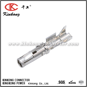 SS12A1T Socket Contact, Stamped, Tin, Size 2.5mm, Wire Range 2.5-3.5mm², 14-12 AWG