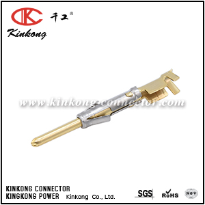 SP16M1F PIN CONTACT, STAMPED, SIZE 16, GOLD FLASH, WIRE RANGE 0.75-1.5MM², 18-16AWG, 13A. COMPATIBLE TO PART SM16M11J