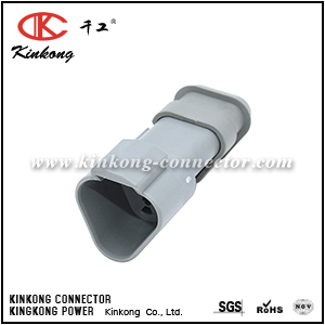 AT04-3P-SB01 3 way Amphenol male plug