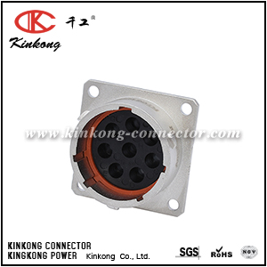 8 pore Amphenol connector plug housing RT00188PN03