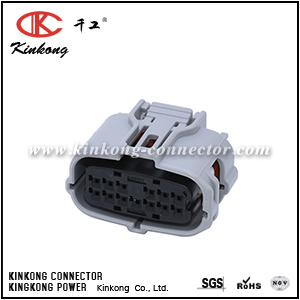 6189-1092 90980-12326 13 pole female waterproof automotive electrical connectors CKK7131G-0.6-21