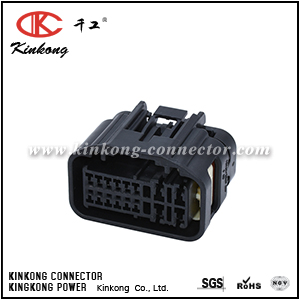 7283-4035-30 15 pole female automotive connector
