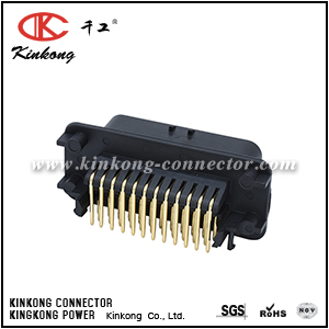 35 pin Through Hole Plug Power Connector, with Solder Termination CKK7353AG1-1.5-11