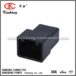 Kinkong 10 pin male electric control connector  CKK5101-0.6-2.2-11