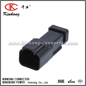 DT04-2P-E005 AT04-2P-EC01BLK 2 pin DT series blade electrical auto connector CKK3021C-1.5-11