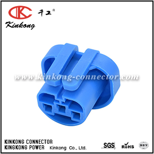 3 hole female electrical wire connector  CKK7034-2.8-21
