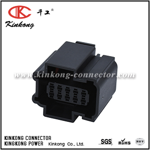 10 hole female electrical cable connector CKK7104-1.5-21