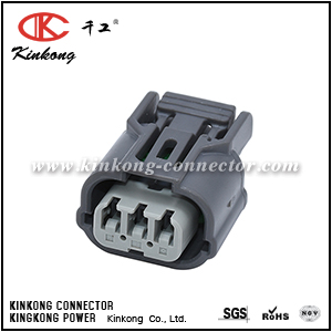 3 hole female waterproof automotive connector  CKK7031B-1.2-21