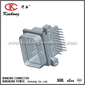 3-6437285-1 3-1437285-1 34 pins male electric connector