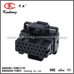 4-1437287-5 24 pin female Automotive ecu Connector  CKK724-1.5-21