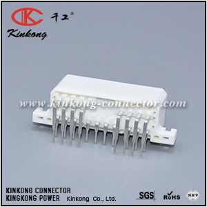 173862-1 18 pin 2 Row male Right Angle Connector CKK5182WA-1.8-11