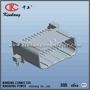 33 pins male ecu connector for Honda Suzuki