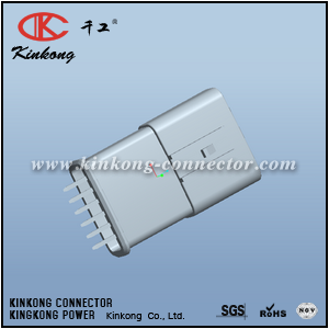 6 pins male pinhead car connector