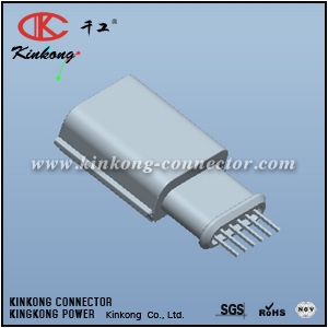 6 pins blade wiring connector