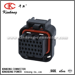 26 ways female double locking Keying type 3 connector CKK7262C-1.6-21