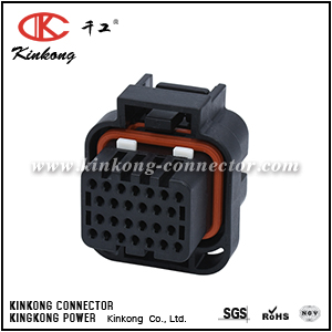 26 hole female double locking Keying type 4 connector CKK7262E-1.6-21