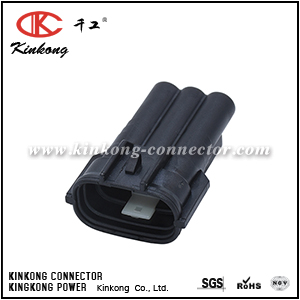 3 pins male electric wire connectors CKK7036B-2.2-11