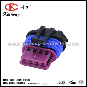 15354716 4 ways female Ignition Coil Connector CKK7046B1-1.2-21