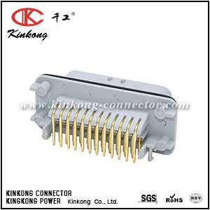35 pins male Gold-Palladium connector CKK7353GAG1-1.5-11