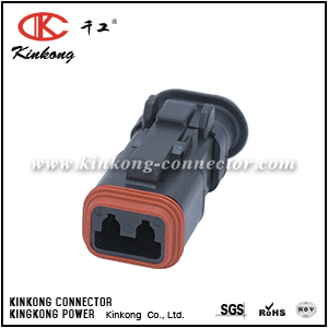 DT06-2S-EP11 2 pin receptacle DT series electrical connector CKK3021S-1.5-21