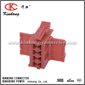 927367-1 8 pole female MIN D-FLACHF GEH connector